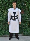 Tabard des Templiers blanc/ noir