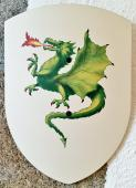 Bouclier Dragon 27 x 37 cm