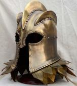 Casque Impérial LANNISTER (Game of Thrones) + support