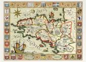Carte du Duché de Bretagne en 1513