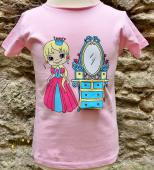 T-Shirt enfant princesse