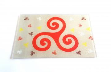 planche à découper triskell couleur 30x19,7 cm