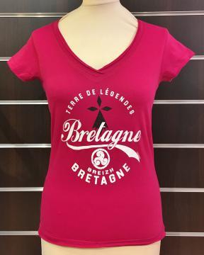 T-Shirt femme Bretagne Terre de Légendes