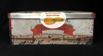 Boîtes métal assortiment palets/ galettes Nantes 300g