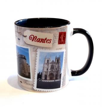 Mug Nantes noir