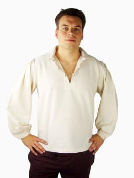 Chemise avec col en coton