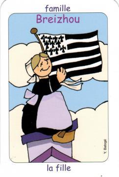 Jeu de 7 familles La Bretagne