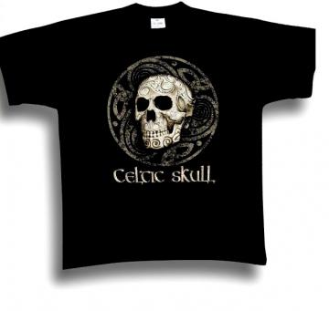 T-Shirt Celtic Skull