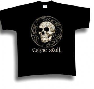 T-Shirt Celtic Skull