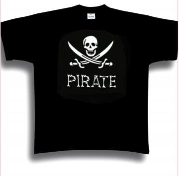 T-shirt pirate