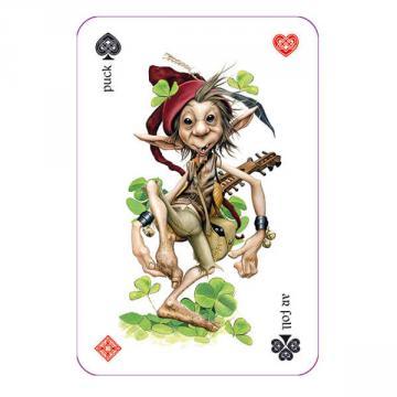 Jeu 54 cartes légende Arhurienne (illustration Brucero)