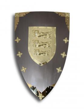 Bouclier métal médiéval