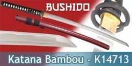 Katana Bambou Bordeau - Maru 1045 - Bushido