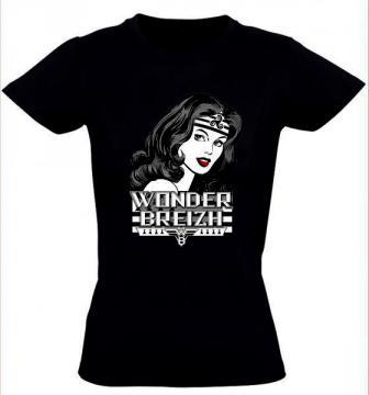 """T- shirt femme """"Wonder Breizh"""""""