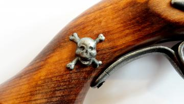 Pistolet pirate XVIII Siecle