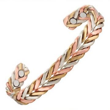 Bracelet cuivre - magnétique PALMIER