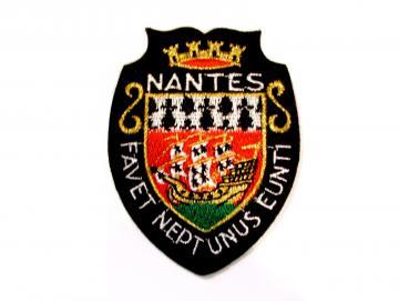 Ecusson tissu Nantes