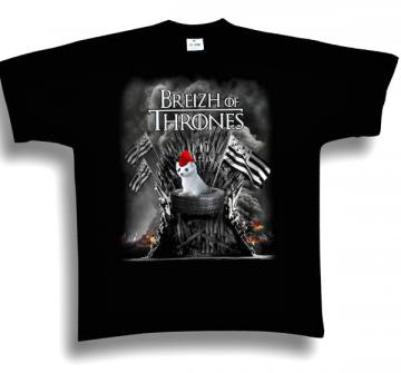 "T-Shirt ""Breizh of Thrones"""