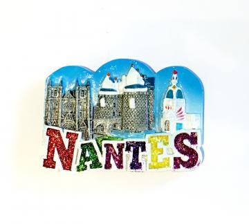 Magnet Nantes Cathédrale, Château, Tour LU