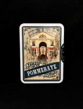 Boîte métal Caramels au beurre salé - 100g - Passage Pommeraye - Nantes