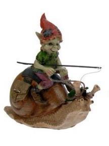Elfe sur escargot