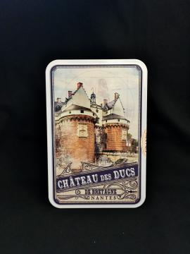 Boîte métal  Grands Sablés - 175g - Château des Ducs de Bretagne  Nantes