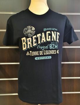 T-Shirt Bretagne Terre de Légendes Original