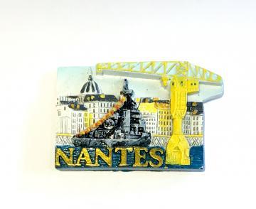 Magnet Nantes Quais 3D