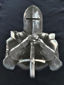 T- Shirt enfant chevalier armure