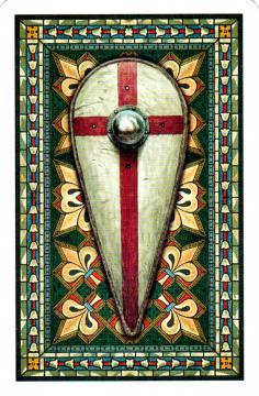 Jeu 54 cartes Templiers