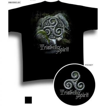 tee-shirt breton motif triskell