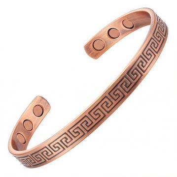 Bracelet magnétique cuivre CURRY - 6 aimants