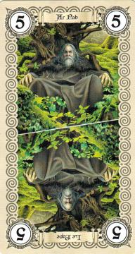 Jeu de tarot celtique (illustration Brucero)