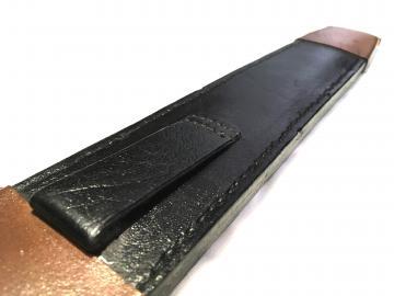 Dague templière forgée + fourreau cuir