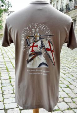 T-shirt adulte devise des templiers