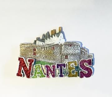 Magnet Nantes, Château des Ducs de Bretagne 3D