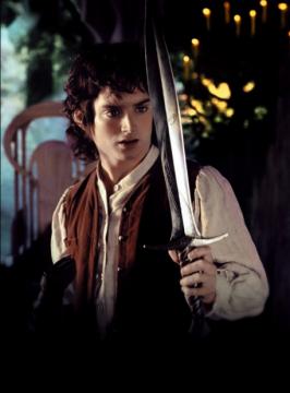 "Dague de Bilbon Saquet, Dard ""Le Hobbit"" avec fourreau"