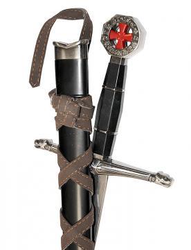 Dague templière Balian d'Ibelin
