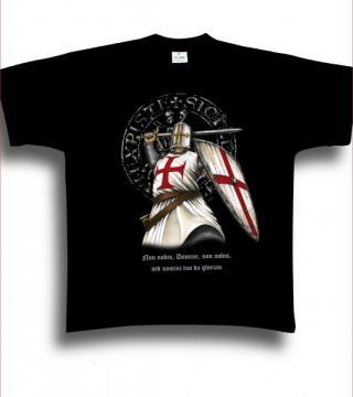 T-shirt enfant devise des templiers