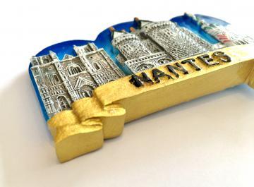Magnet Nantes trio ruban