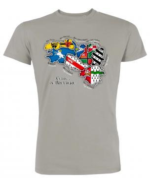 """T- Shirt Bretagne couleur """"Terre de Bretagne"""""""