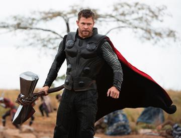 "Réplique Hache de Thor ""STORMBREAKER"" - Avengers: Infinity War"