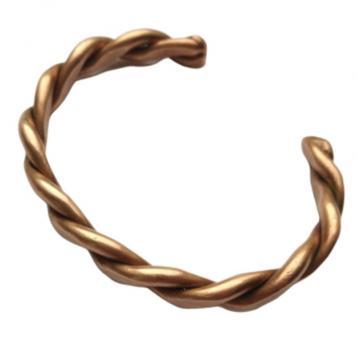 Bracelet cuivre pur TORSADE