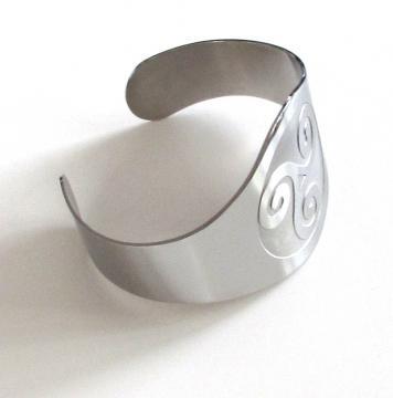 Bracelet métal triskell