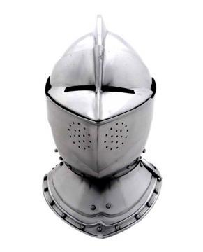Casque anglais d'armure