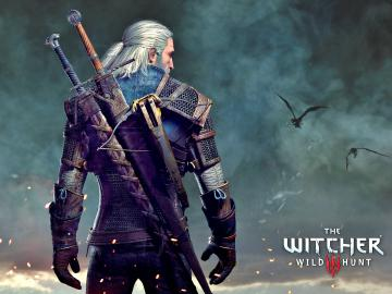 "Epée Wolf ""The Witcher 3"" - Geralt de Riv + fourreau"