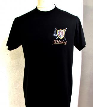 T- shirt noir templier