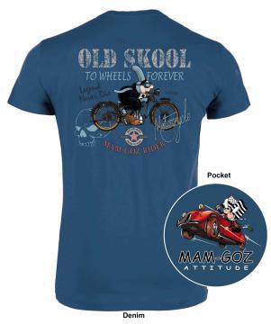 """T-Shirt Mam'Goz """"Old Skool"""""""