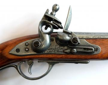 Pistolet pirate XVIII Siecle