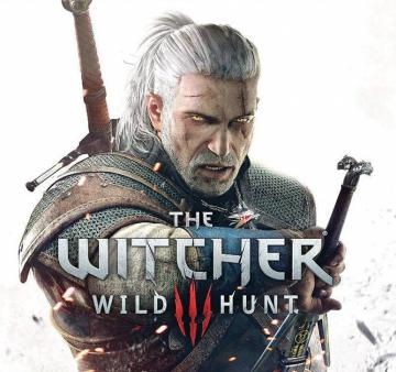 "Epée ""The Witcher 3"" avec gravures - Geralt de Riv + fourreau"